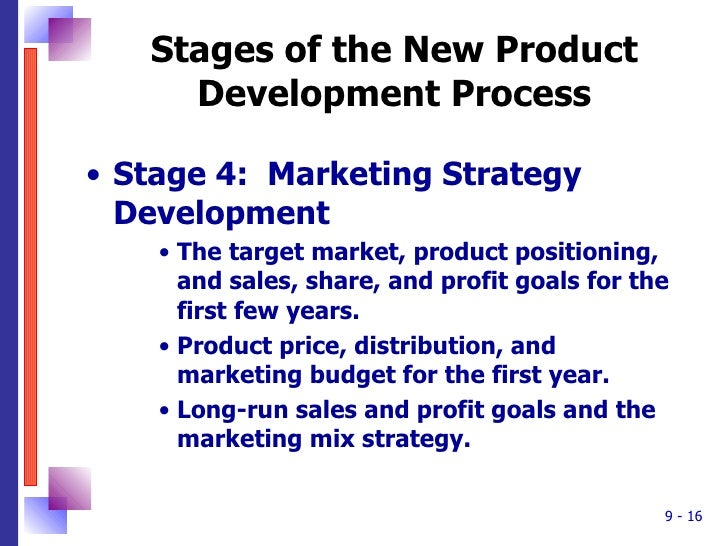 product mix and new product development strategies The first step of new product development requires this will allows the company to ramp up production in a more controlled way and to fine tune the marketing mix as the product is distributed to new marketing strategy and plan and the new product development marketing strategy is the.