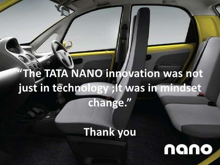 product life cycle of tata nano Indeed, there is a time in every product's life-cycle when it has its birth announcement, when it steps out into the world for the first time, and when it bursts into flames-- and tata's nano is .