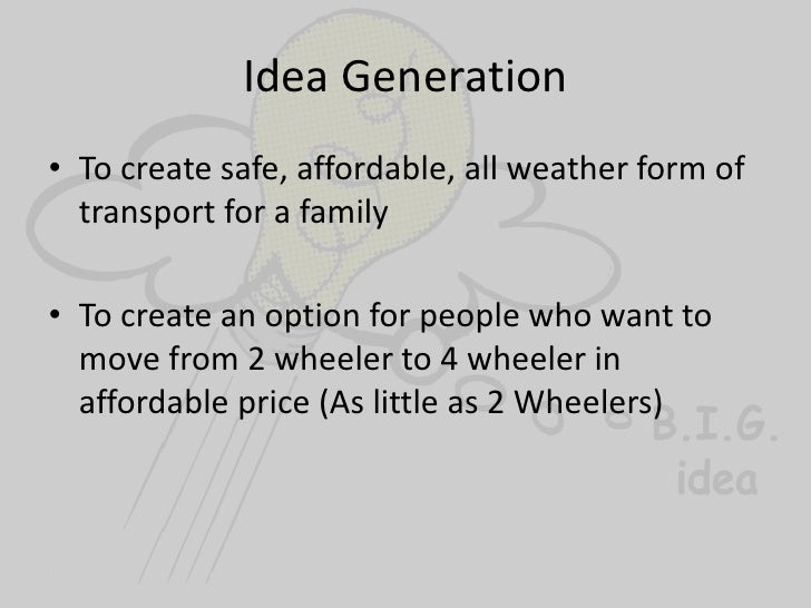 tata nano new product development Successful product innovation superior customer insight and technology based product development are the key success factors for tata nano are examples of this.