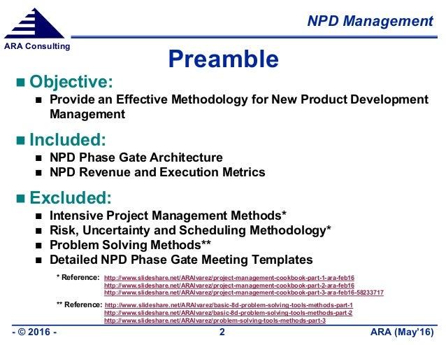 New Product Development Management Slide 2