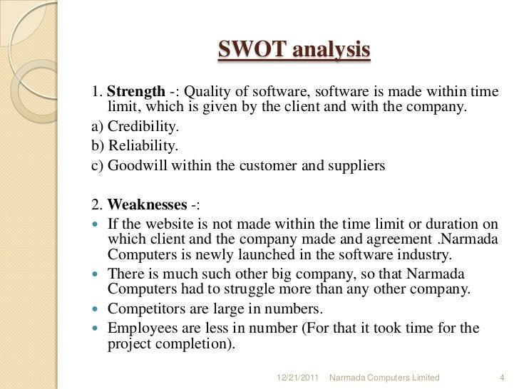 An analysis of software development