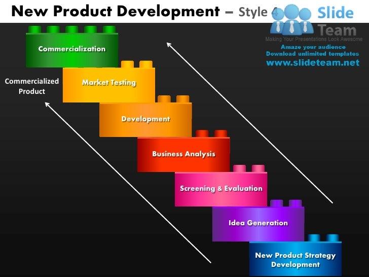 brand development process template - new product development style 4 powerpoint presentation