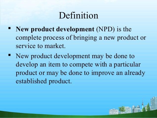 New product devlopment ppt