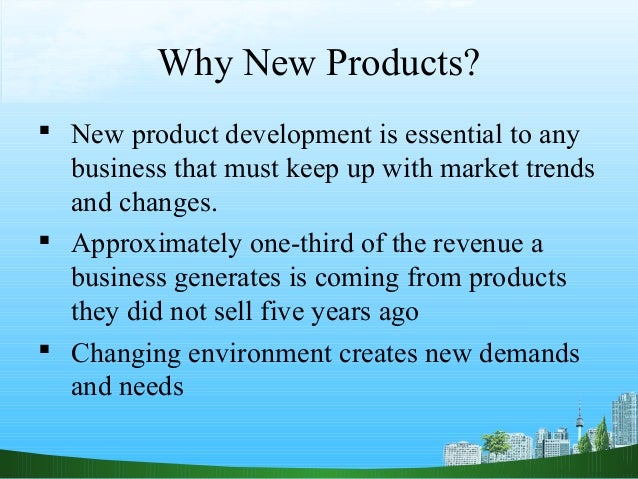 new product development examples pdf