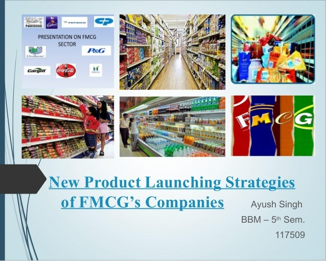product strategy of fmcg product