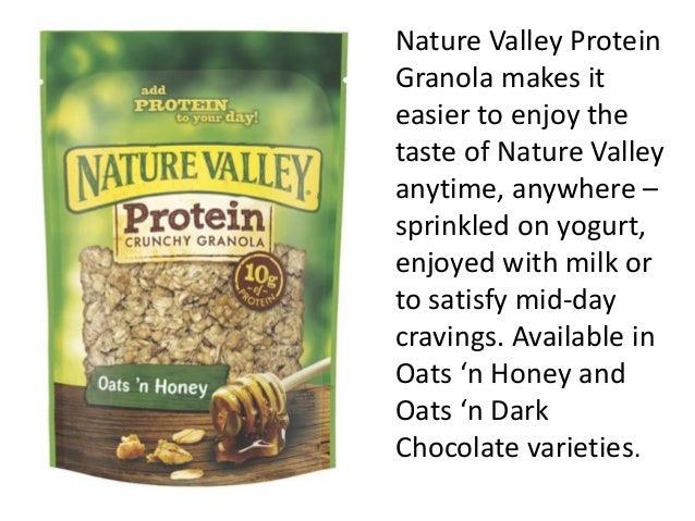Nature Valley Protein Granola makes it easier to enjoy the taste of Nature Valley anytime, anywhere – sprinkled on yogurt,...