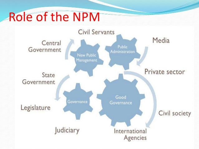 public sector reform npm Government of punjab, university of islamabad  pakistan is also influenced by  npm as reforms in public sector have been developed.