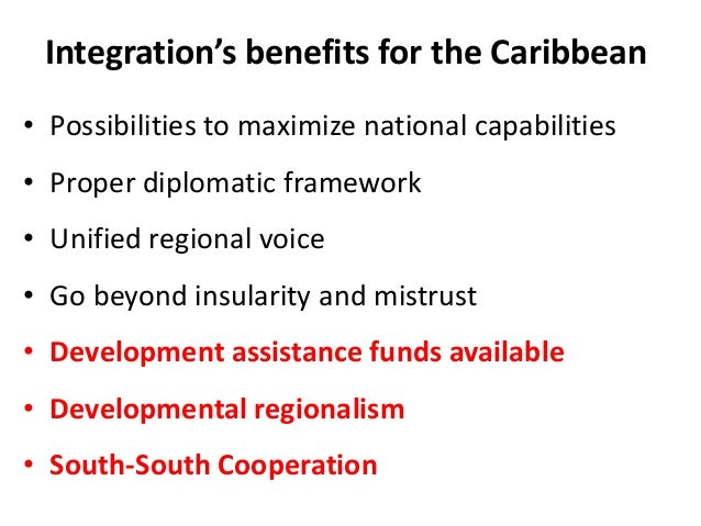 factors that facilitate regional integration in the caribbean State two factors which facilitate regional integration in the caribbean its about social studies follow factors promoting regional integration with so many regional blocs and integration organizations in latin american and the caribbean.
