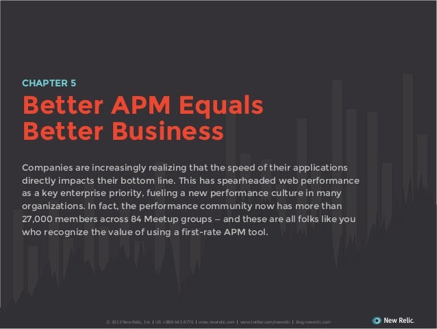 CHAPTER 5  Better APM Equals Better Business Companies are increasingly realizing that the speed of their applications dir...