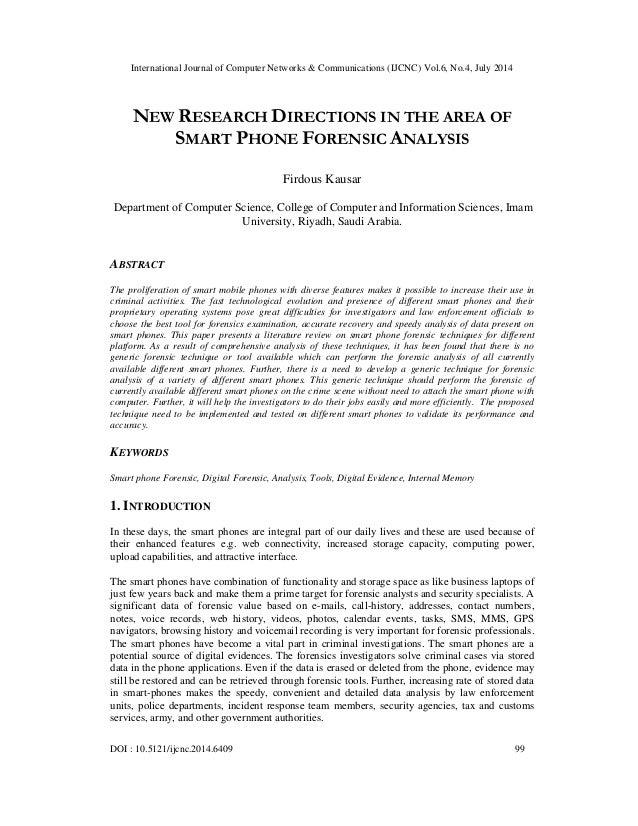International Journal of Computer Networks & Communications (IJCNC) Vol.6, No.4, July 2014 DOI : 10.5121/ijcnc.2014.6409 9...