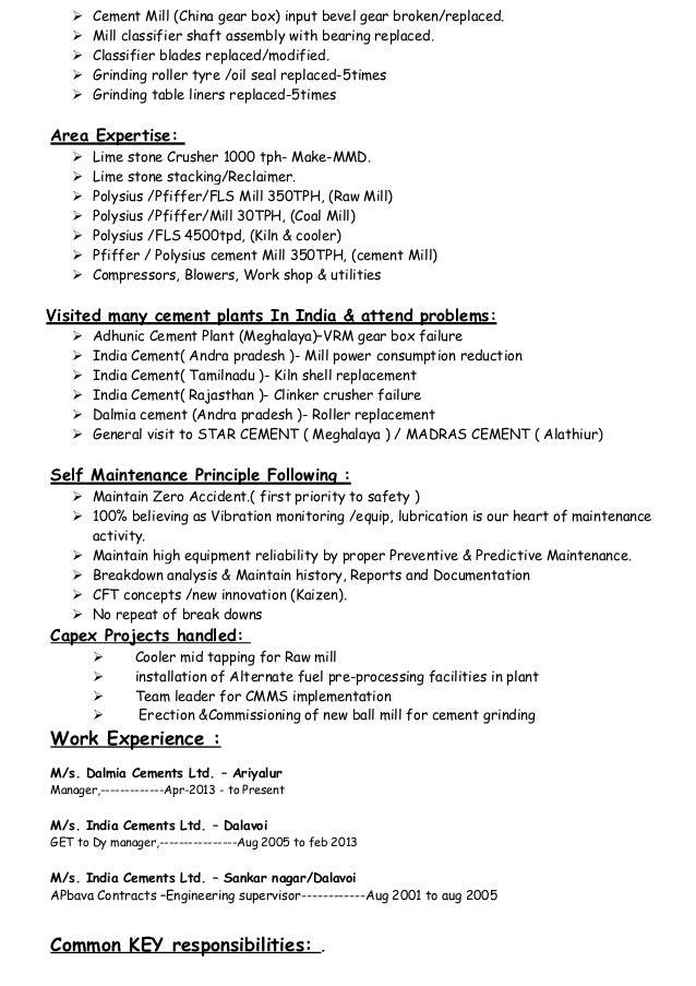New resume thiru