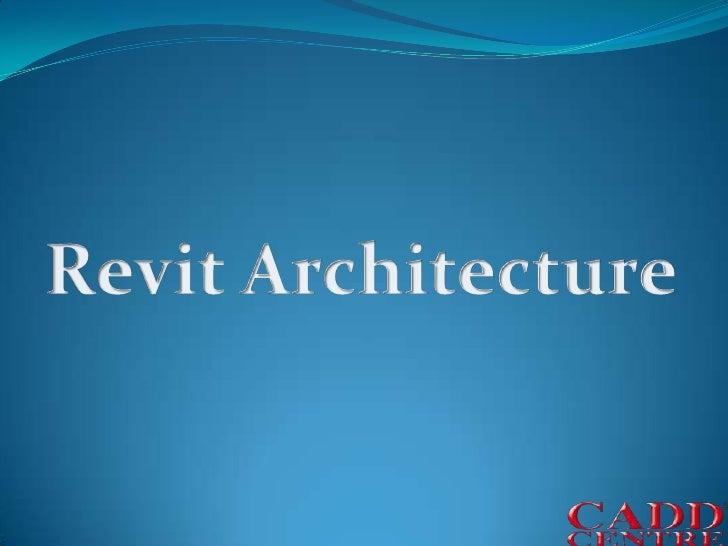 Revit Architecture<br />