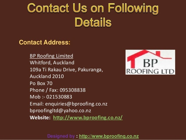 BP Roofing ...