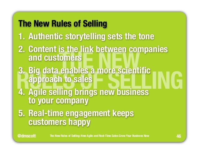 The new rules of selling business now 45 the new rules of selling 46 fandeluxe Gallery