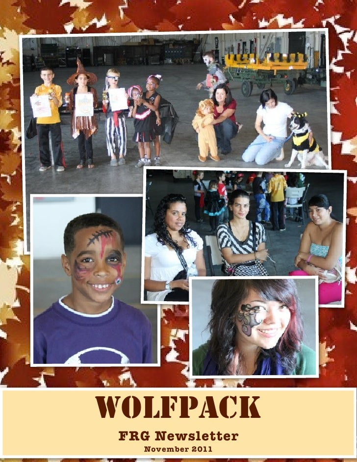 WOLFPACK FRG Newsletter   November 2011