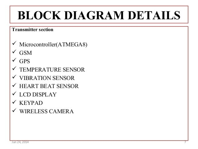advanced security system for women block diagram