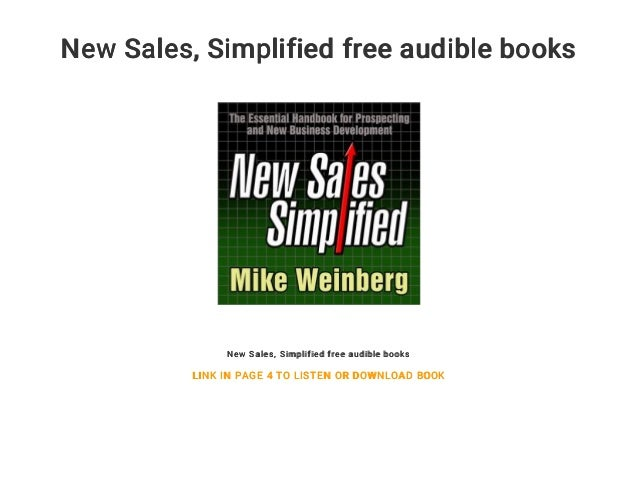 New Sales    Simplified free audible books
