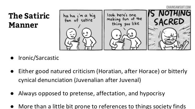 Satire Text