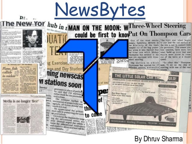 NewsBytes By Dhruv Sharma
