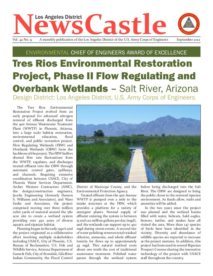 NewsCastle                Los Angeles DistrictVol. 42 No. 9     A monthly publication of the Los Angeles District of the U...