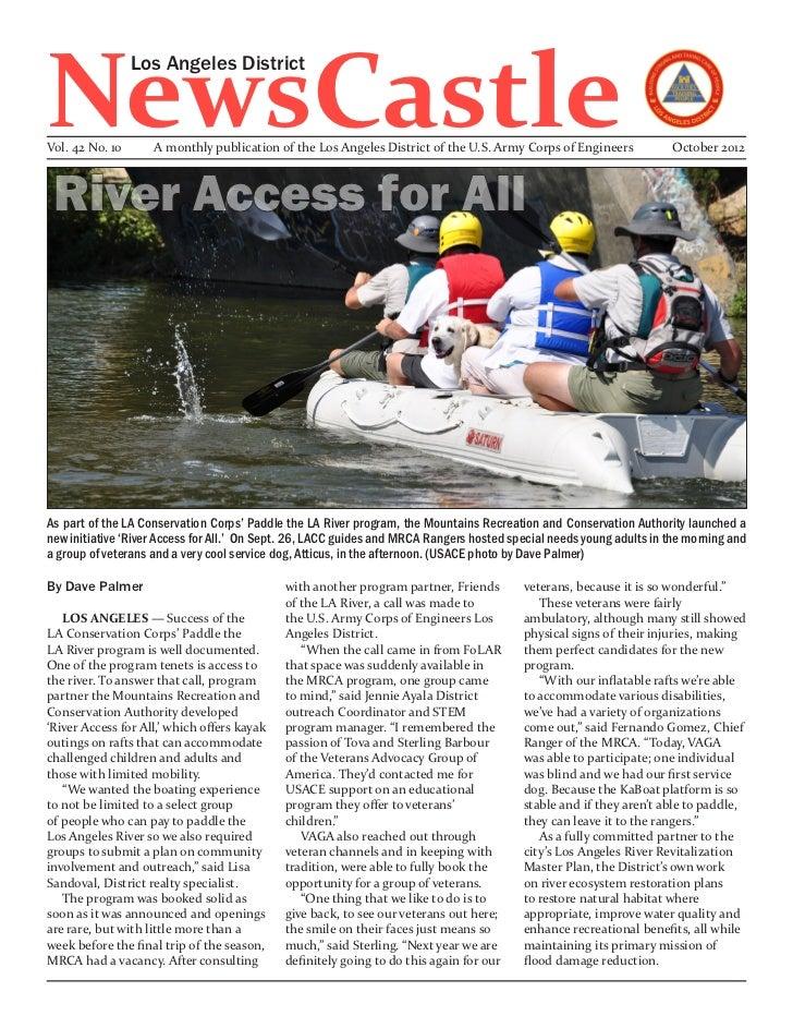 NewsCastle                 Los Angeles DistrictVol. 42 No. 10      A monthly publication of the Los Angeles District of th...