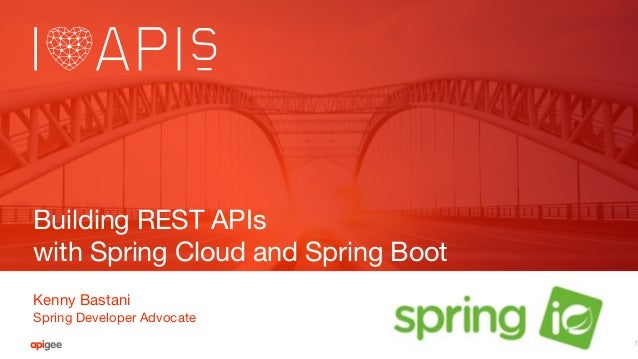 Building REST APIs with Spring Boot and Spring Cloud