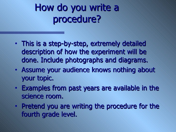 How to write an introduction at fourth grade level