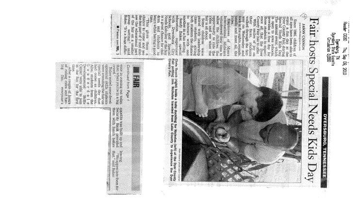 News clippings 9 21-10 2 of 2