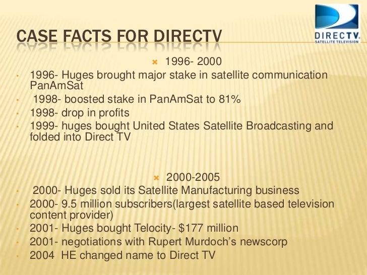 Newscorp Amp Directv
