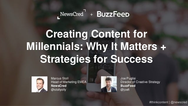 Creating Content for Millennials: Why It Matters + Strategies for Succss Slide 2