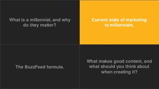 Creating Content for Millennials: Why It Matters + Strategies for Succss Slide 20