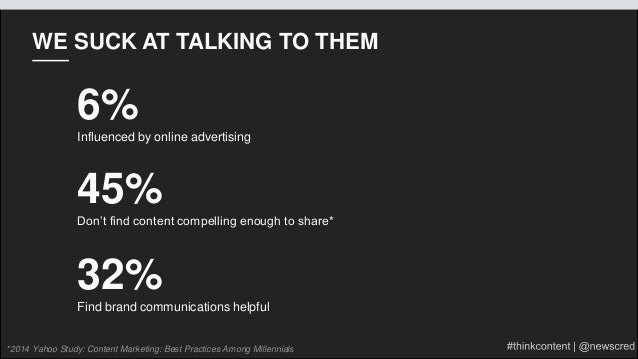 Creating Content for Millennials: Why It Matters + Strategies for Succss Slide 21