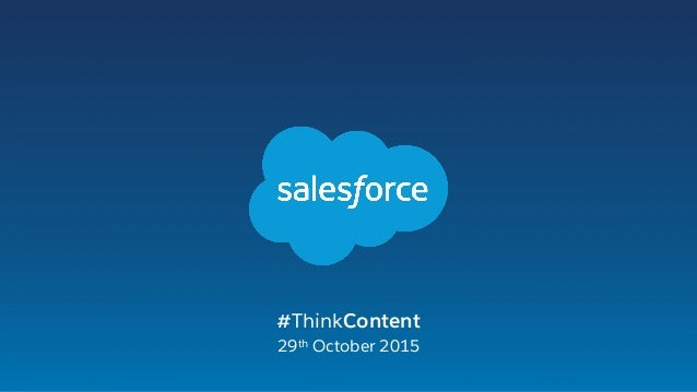 #ThinkContent 29th October 2015