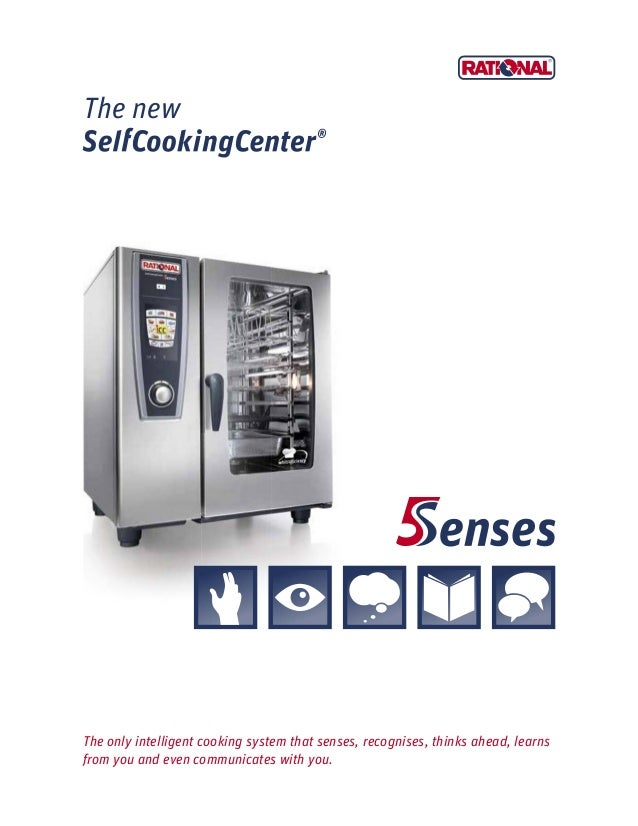 New Self Cooking Center Rational 5 Sense Kitchenrama