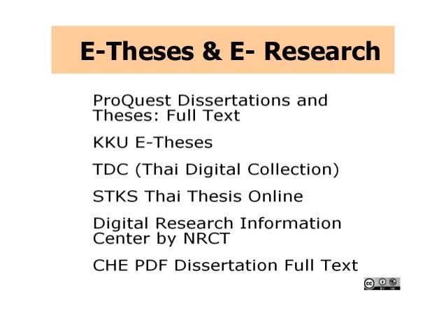stks thai thesis online