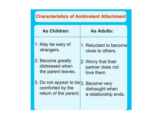 temperament and attachment relationship