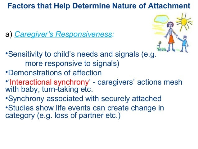 attachment theory and the impact adult The purpose of this study was to investigate the effects of adult attachment and  social  the founder of attachment theory, john bowlby [6,7], conceptualized.