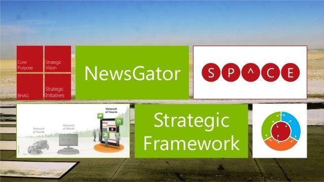 Strategic Framework NewsGator