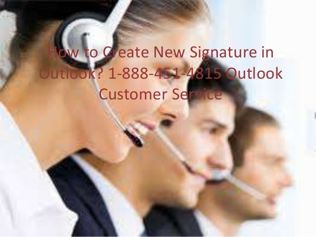 how to create a new signature in outlook