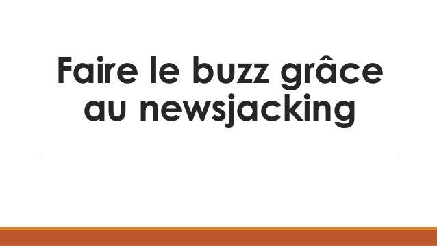 Faire le buzz grâce au newsjacking