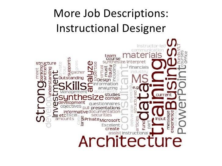 New Skills For Instructional Designers