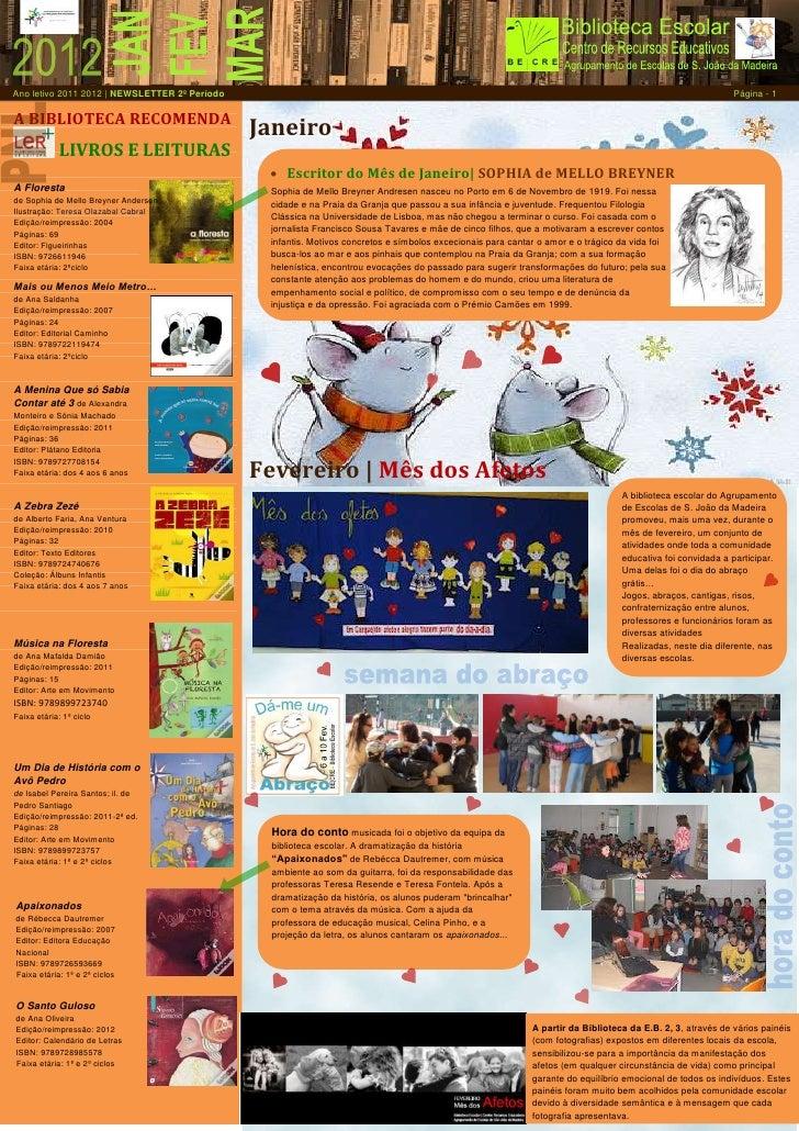 Ano letivo 2011 2012 | NEWSLETTER 2º Período                                                                              ...
