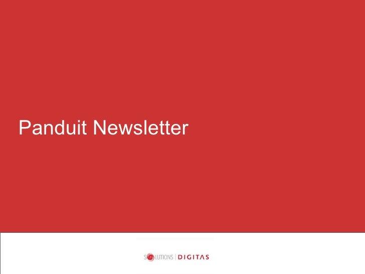 Panduit Newsletter