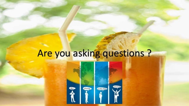 Are you asking questions ?