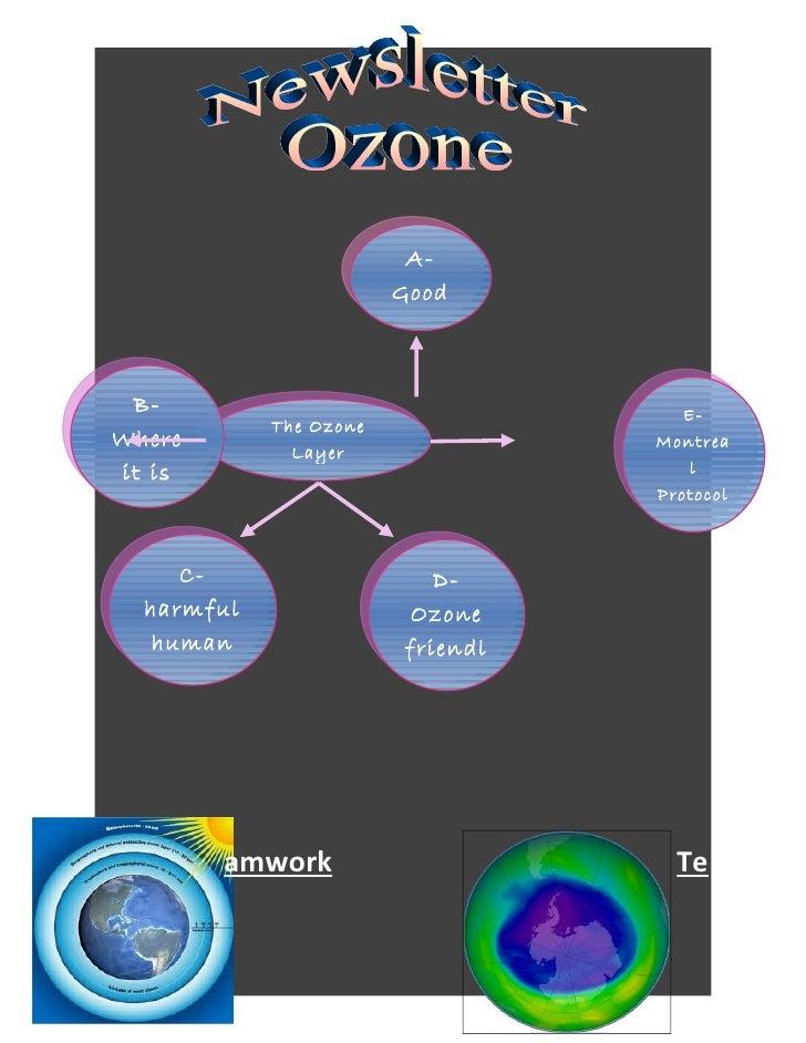 A-                        Good                        & Bad B-                                   E-            The OzoneWh...