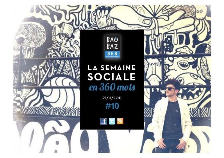 LA SEMAINESOCIALE  360   21/11/2011    #10                1