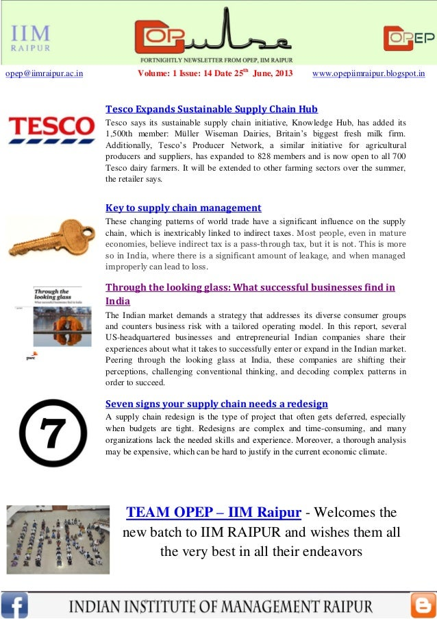 Tesco Expands Sustainable Supply Chain HubTesco says its sustainable supply chain initiative, Knowledge Hub, has added its...