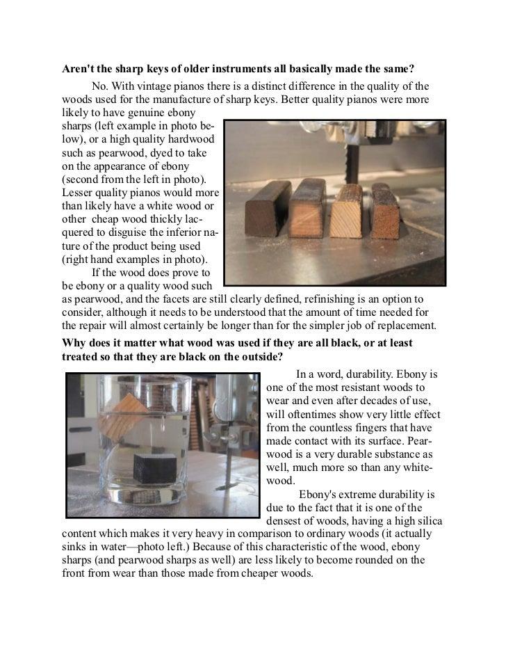 Newsletter 18   worn sharps keys Slide 3