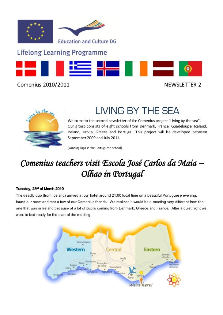 Comenius 2010/2011                                                                       NEWSLETTER 2                     ...