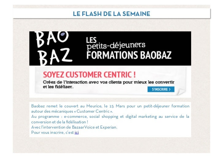Baobaz SES - La semaine sociale 270212 Slide 2